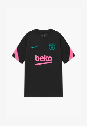FC BARCELONA UNISEX - Club wear - black/pink beam/new green