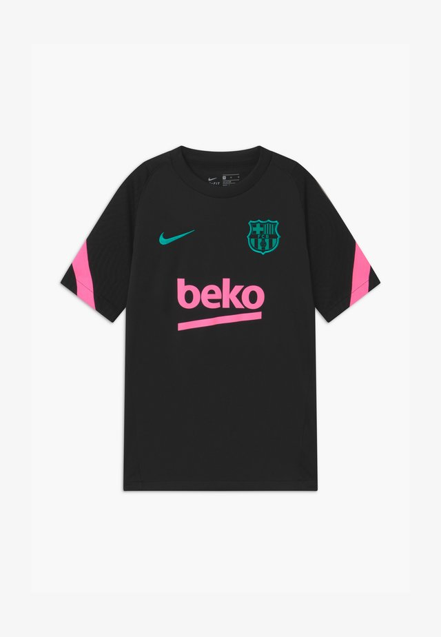 FC BARCELONA UNISEX - Fanartikel - black/pink beam/new green