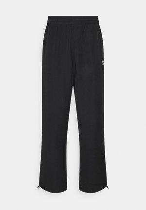 BACKVECTOR TRACKPANT - Teplákové kalhoty - black