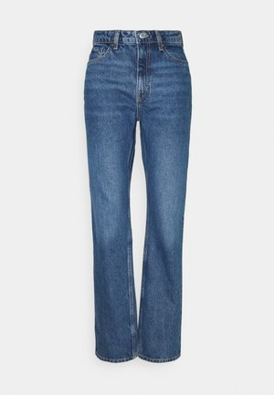 VOYAGE LOVED - Jeans Straight Leg - sea blue