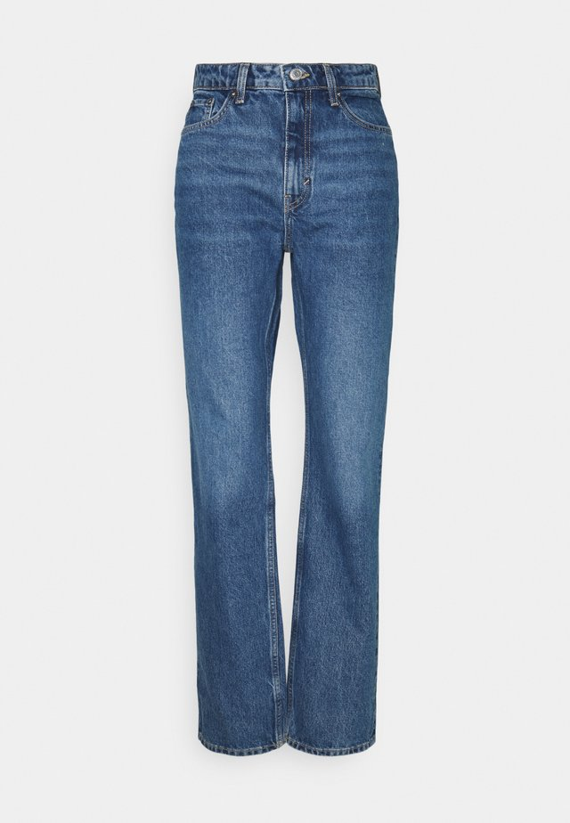 VOYAGE LOVED - Straight leg jeans - sea blue