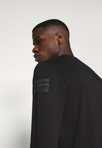 G-Star - BASE R T L\S - Long sleeved top - compact jersey o - dk black - 4