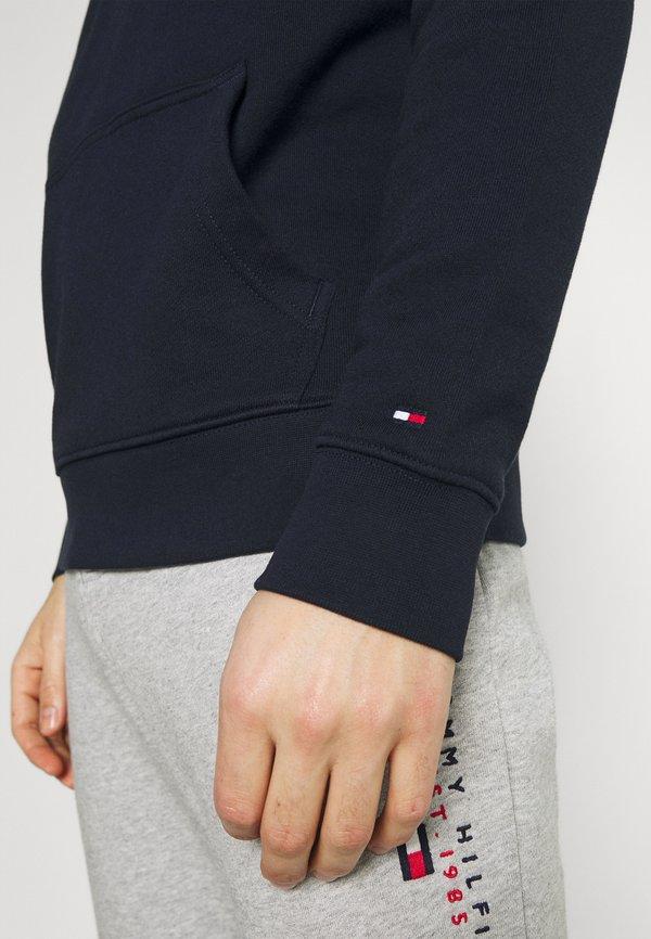 Tommy Hilfiger ESSENTIAL HOODY - Bluza z kapturem - desert sky/granatowy Odzież Męska EKPE