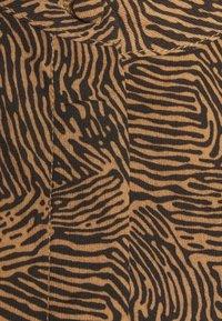 Vila - VIKOLINA TIE STRING DRESS - Day dress - tobacco brown - 6