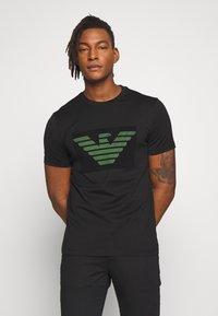 Emporio Armani - T-shirts print - nero - 0