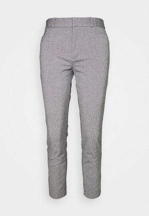 MODERN SLOAN TEXTURE PANT - Kangashousut - dark grey