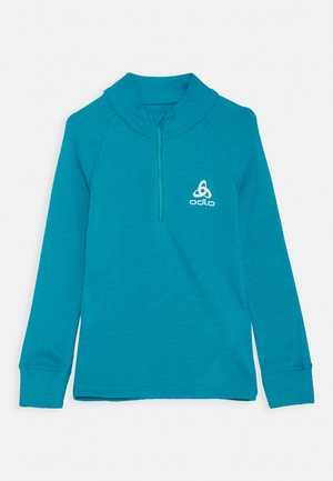 TURTLE NECK HALF ZIP ACTIVE UNISEX - Caraco - tumultuous sea