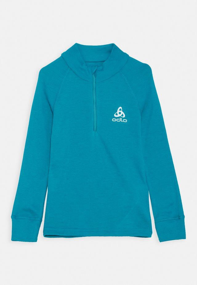 TURTLE NECK HALF ZIP ACTIVE UNISEX - Tílko - tumultuous sea