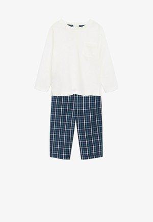 SET - Pyjama - Blue / White