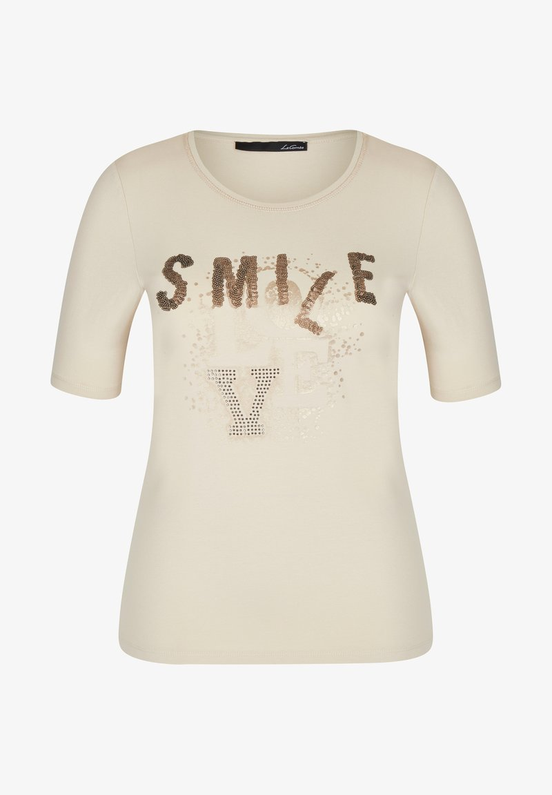 LeComte - Print T-shirt - sand