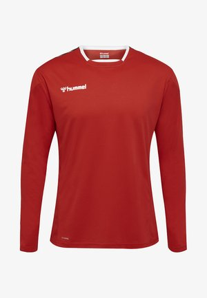 HMLAUTHENTIC - Sports shirt -  red