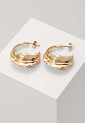 TRINE HOOPS - Pendientes - gold-coloured