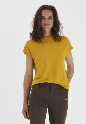 FRLESTRUC  - T-shirts basic - harvest gold