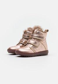 Bisgaard - STORM - Vysoká obuv - rose gold - 1