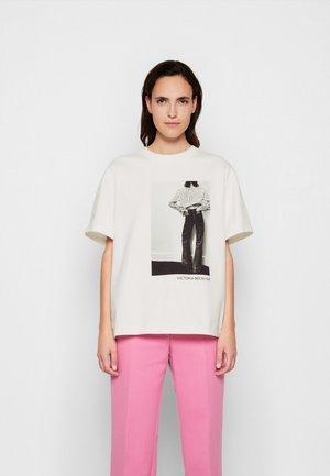 ALINA - Print T-shirt - off white