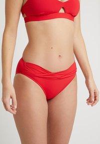 Seafolly - TWIST BAND HIPSTER - Bikiniunderdel - chilli - 0