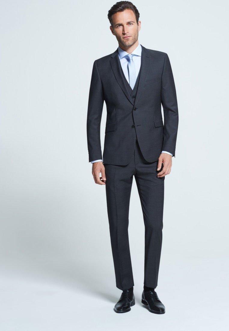 Strellson - MERCER - Suit trousers - anthracite mottled