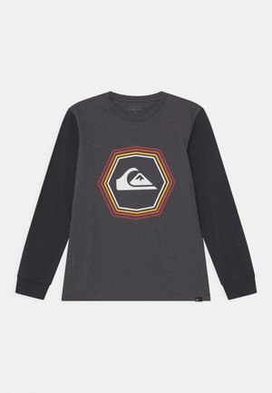 NEW NOISE - Long sleeved top - charcoal heather