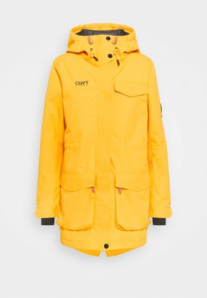 TRACK - Snowboard jacket - yellow