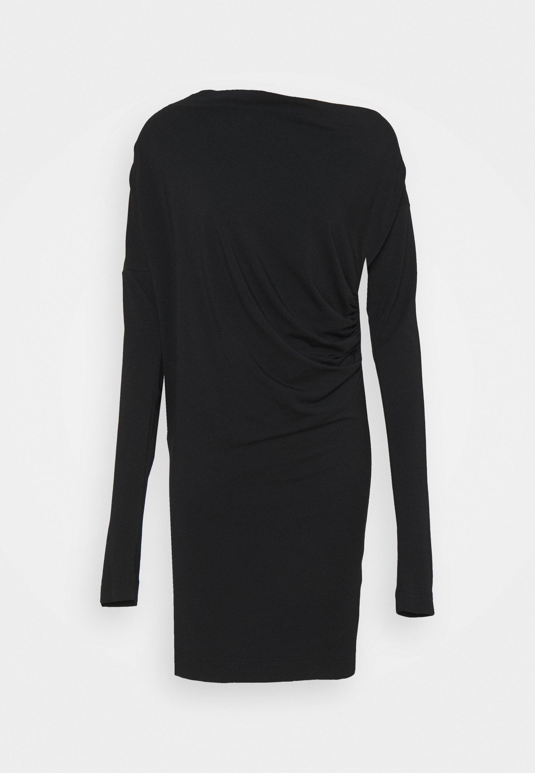 Women NEW DRAPE - Denim dress