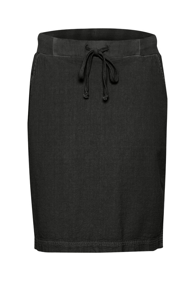 NAYA  - A-line skirt - black deep