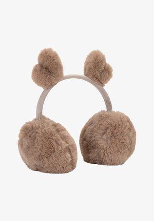 Ear warmers - brown