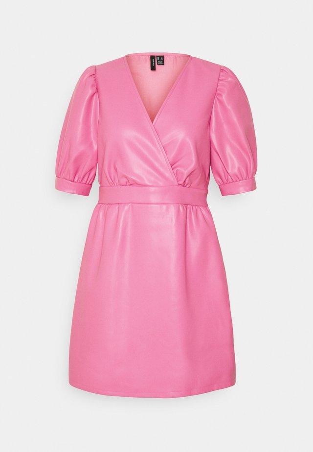 VMPAULINA SHORT DRESS - Day dress - chateau rose