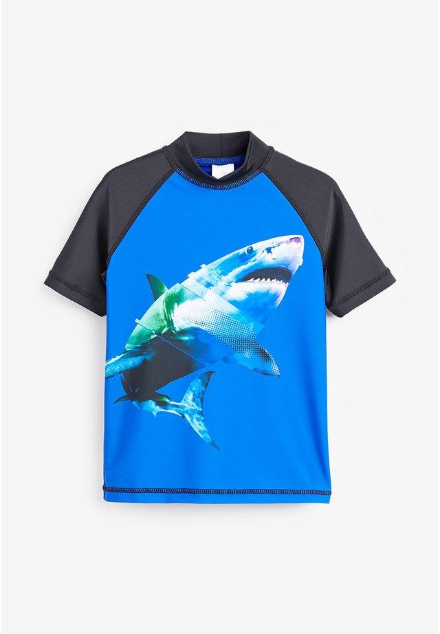 SHARK RASH VEST (3-16YRS) - Koszulki do surfowania - blue