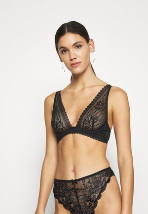 PANAMA N*7  - Triangle bra - black