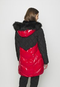 River Island - Winter coat - red/black - 2