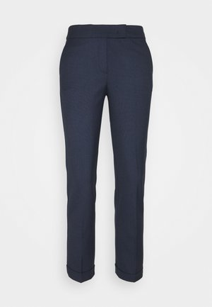 MONOPOLI - Pantalon classique - navy blue pattern