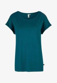 Q/S designed by - T-shirt print - blue green - 4