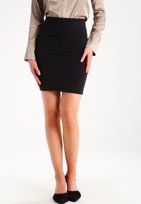 Samsøe Samsøe - Mini skirt - black - 0