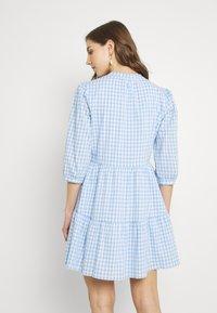 Forever New - GINA GINGHAM SMOCK DRESS - Shirt dress - pale blue - 2