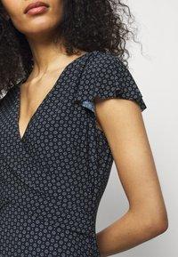 Lauren Ralph Lauren - PRINTED MATTE DRESS - Maxi dress - lighthouse navy - 4
