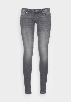 ONLCORAL SUPER LOW SKINNY - Jeans Skinny Fit - grey denim