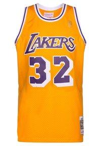 Mitchell & Ness - NBA LA LAKERS SWINGMAN 2.0 MAGIC JOHNSON BASKETBALLTRIKOT HERREN - Article de supporter - yellow - 0