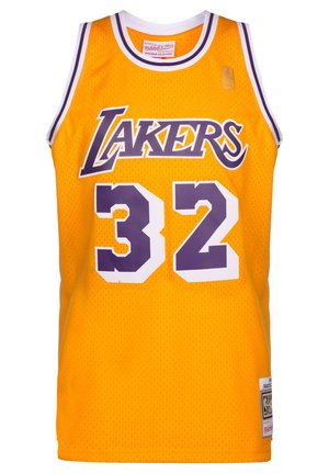 NBA LA LAKERS SWINGMAN 2.0 MAGIC JOHNSON BASKETBALLTRIKOT HERREN - Klubové oblečení - yellow