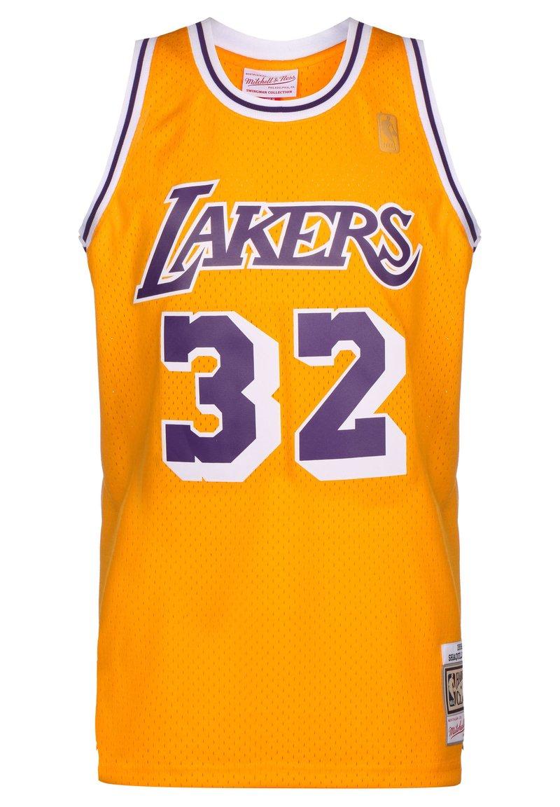 Mitchell & Ness - NBA LA LAKERS SWINGMAN 2.0 MAGIC JOHNSON BASKETBALLTRIKOT HERREN - Article de supporter - yellow