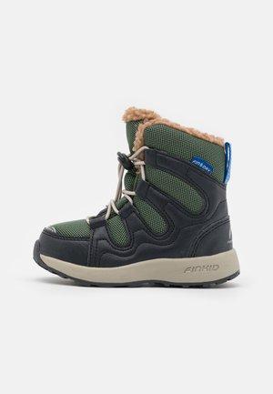HUIPPU UNISEX - Zimní obuv - bronze green/graphit