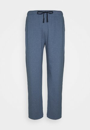 TROUSERS - Pyjama bottoms - blue dark melange