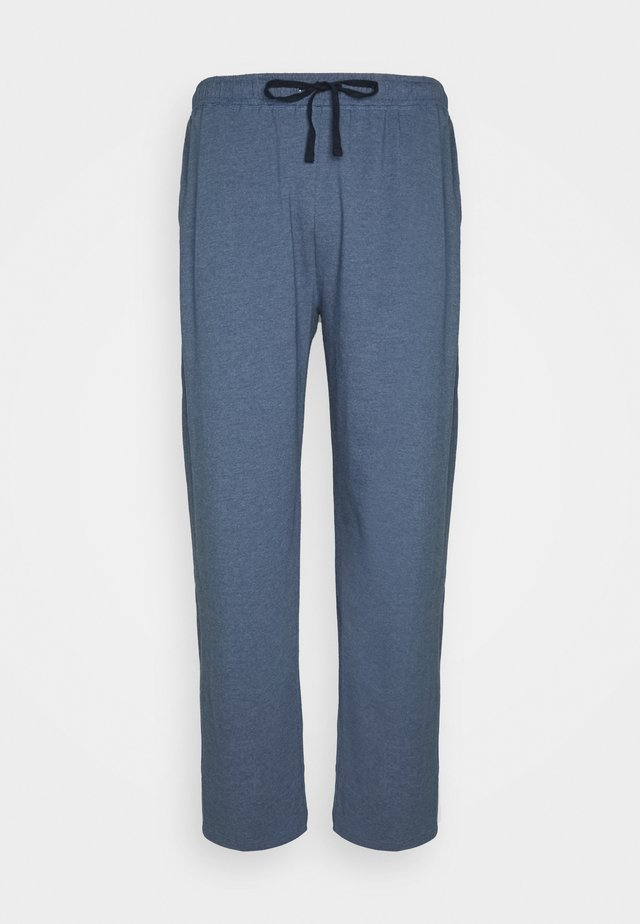 TROUSERS - Pyžamový spodní díl - blue dark melange