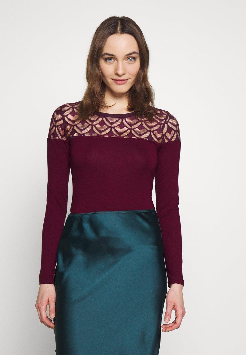 Anna Field - T-shirt à manches longues - winetasting