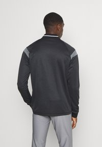 adidas Golf - WARMTH 1/4 ZIP - Sweatshirt - black melange - 2