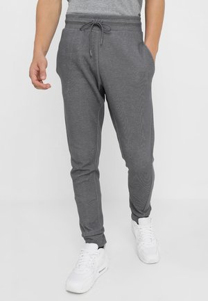 OPTIC - Tracksuit bottoms - dark grey/heather