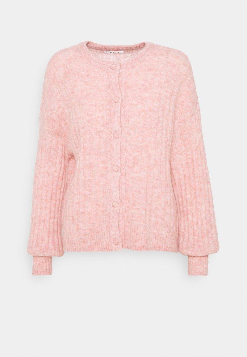 Moss Copenhagen - DEANNA CARDIGAN - Cardigan - powder pink melange