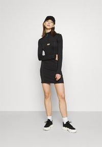adidas Originals - DRESS R.Y.V. ORIGINALS - Vestido de tubo - black - 1