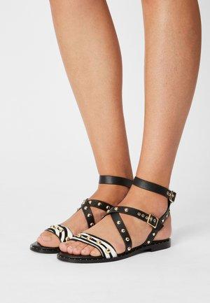 HISAURA - Sandals - noir
