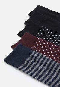 Jack & Jones - JACDOTS LINE SOCKS 5 PACK - Chaussettes - black