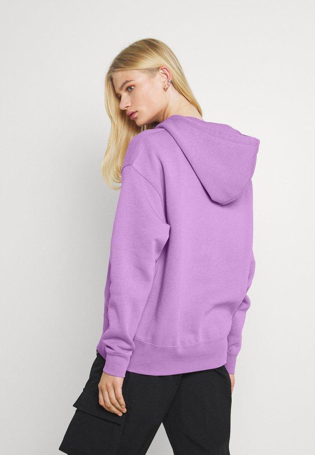 HOODIE TREND - Felpa - violet shock/white